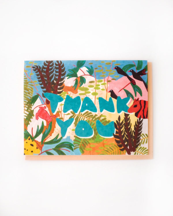 Small Adventure - Jungle Thank You Card