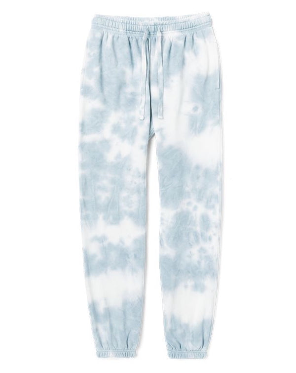 Richer Poorer - Recycled Fleece Sweatpant - Blue Mirage Tie Dye