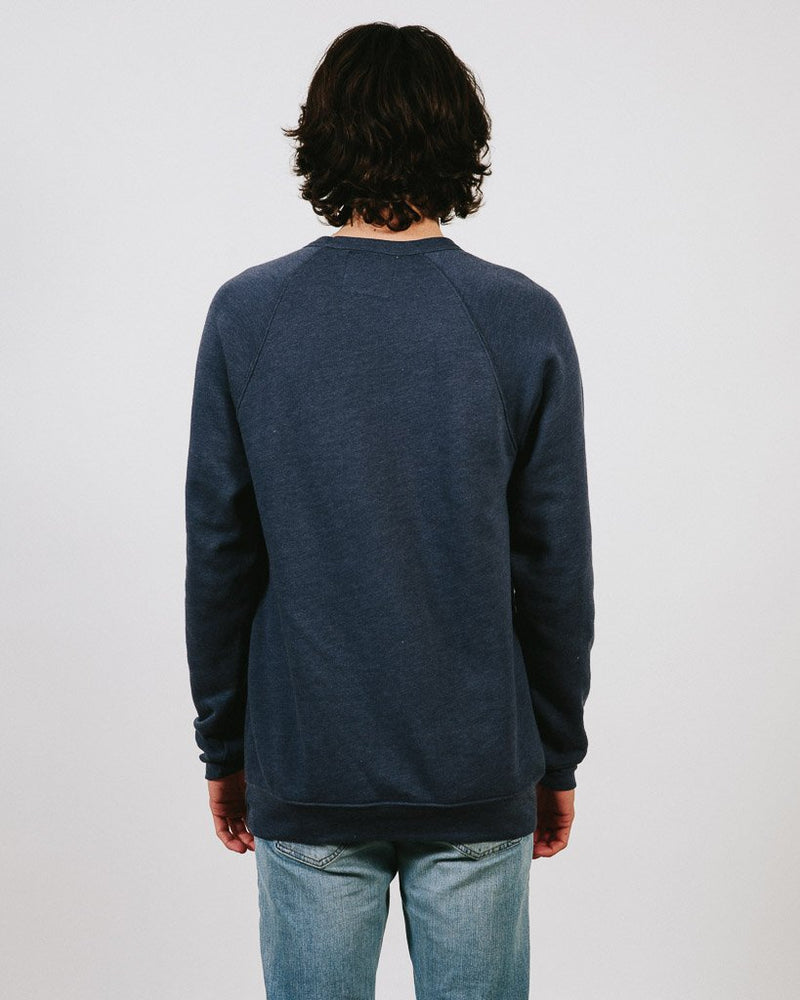 Camp Brand Goods - In It Together Crewneck // Navy Heather