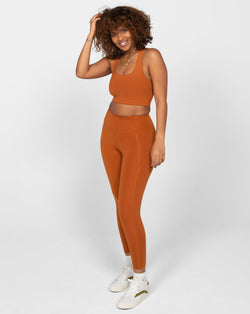 Girlfriend Collective - High Rise Compressive Legging  Trail