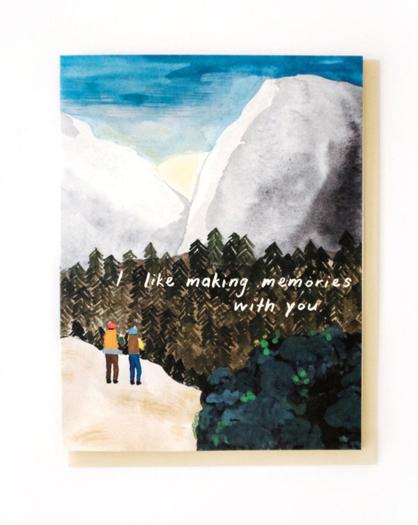 Small Adventures - Sunrise Hike Card