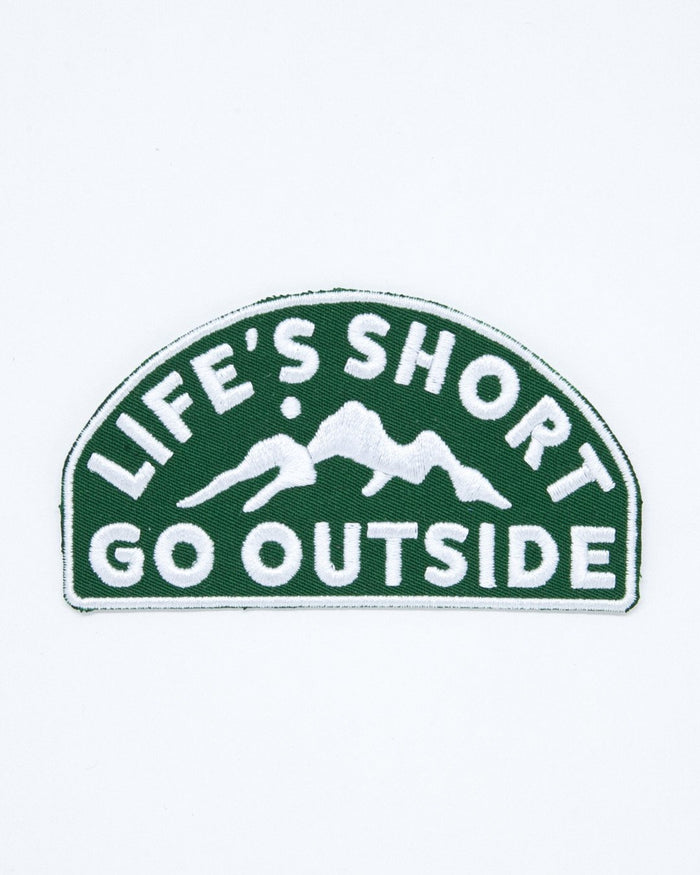 CAMP BRAND GOODS - LIFE'S SHORT PATCH