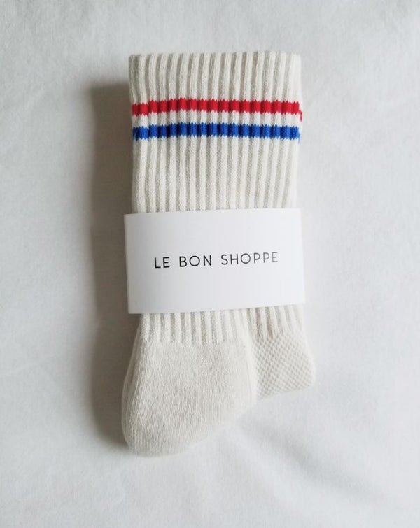 Le Bon Shoppe - Boyfriend Socks - Milk