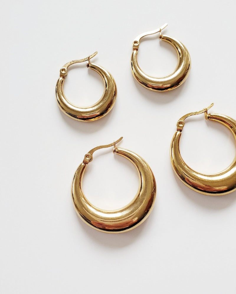 COUTUKITSCH - Cassia Hoop Set Gold