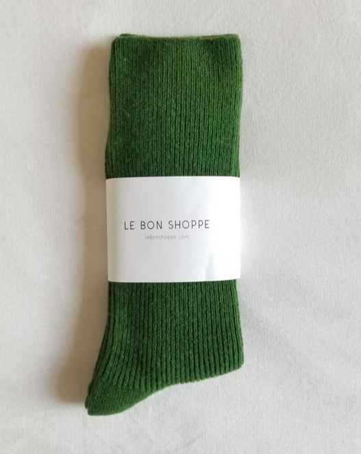 Le Bon Shoppe - Grandpa Socks - Avocado