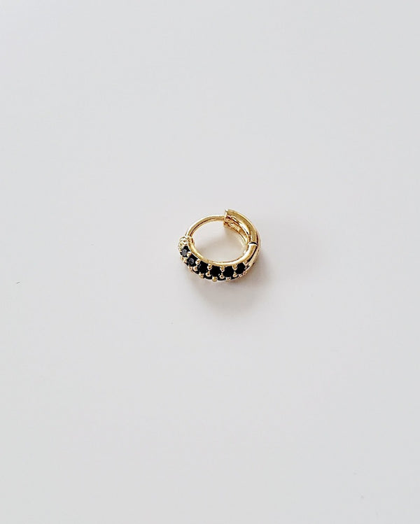 Coutukitsch - Onyx Hoop