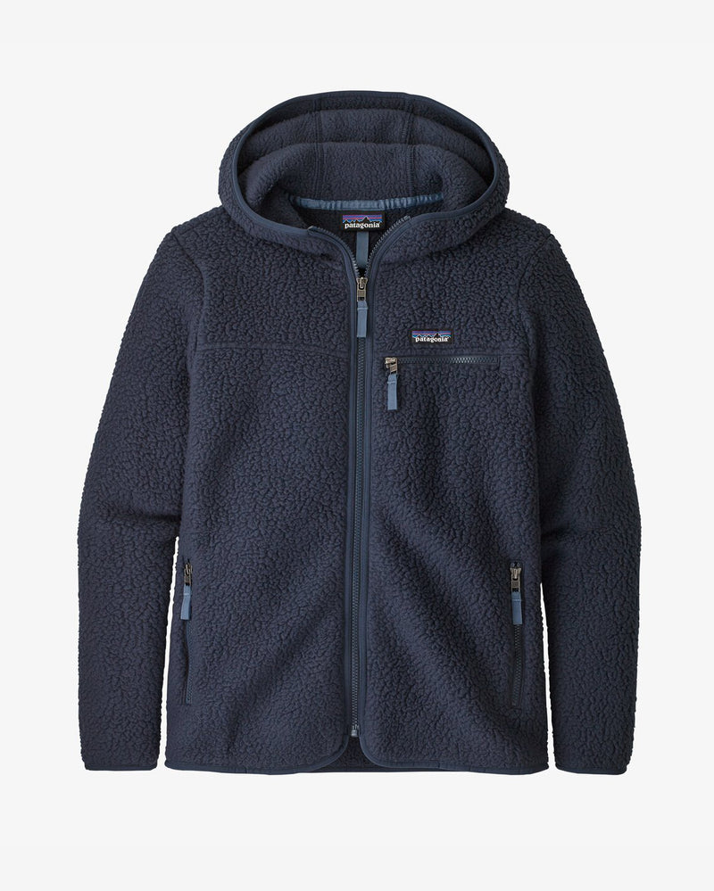 Patagonia - Women's Retro Pile Fleece Hoody - New Navy