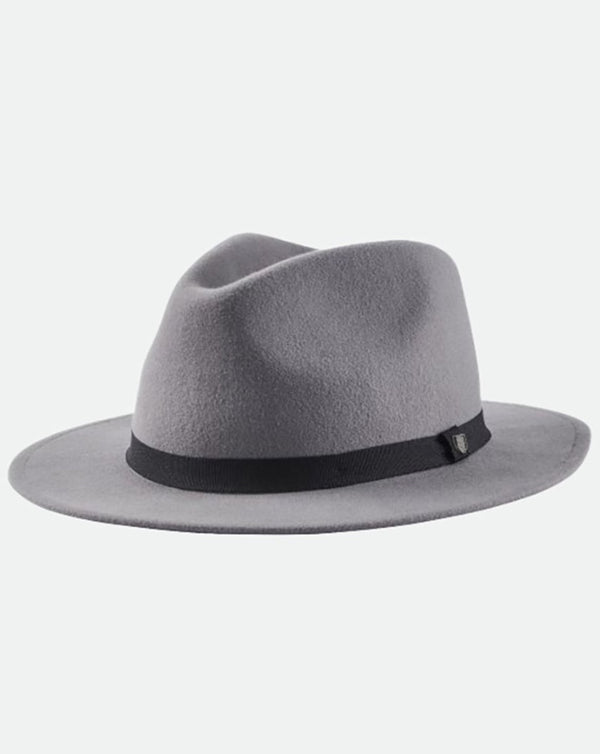 Brixton - Messer Packable Fedora Grey