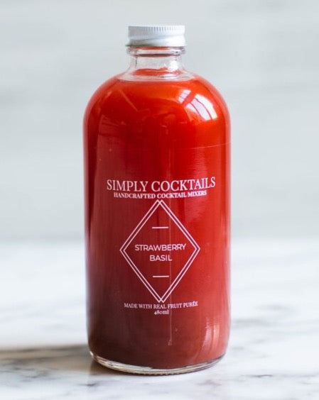 Simply Cocktails *Curbside Pickup Only* - Strawberry Basil Mixer