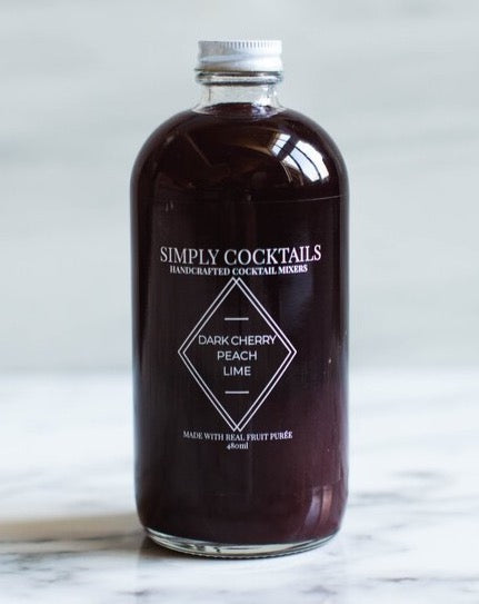 Simply Cocktails *Curbside Pickup Only*- Cherry Peach Lime Mixer