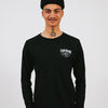 CAMP BRAND GOODS - TRIED & TRUE LONG SLEEVE // BLACK HEATHER