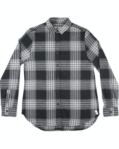 Anian - The Sunday Flannel Women's - Black/White