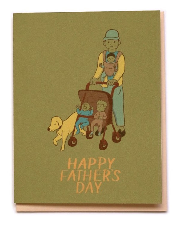 Small Adventures - Father's Day Strolling Card
