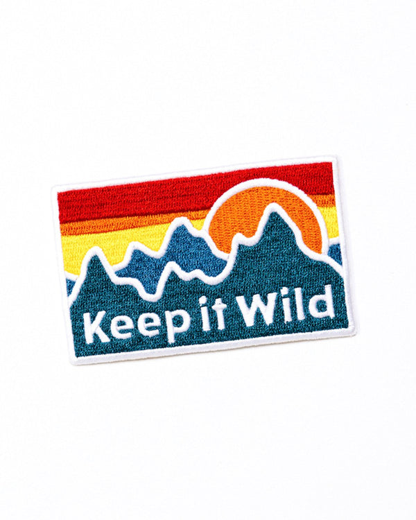 Camp Brand Goods - Keep It Wild Patch