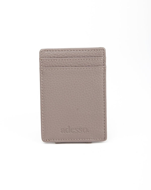 Adesso - Money Clip Cardholder Grey
