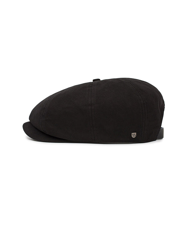 Brixton - Brood Adjustable Snap Cap - Black