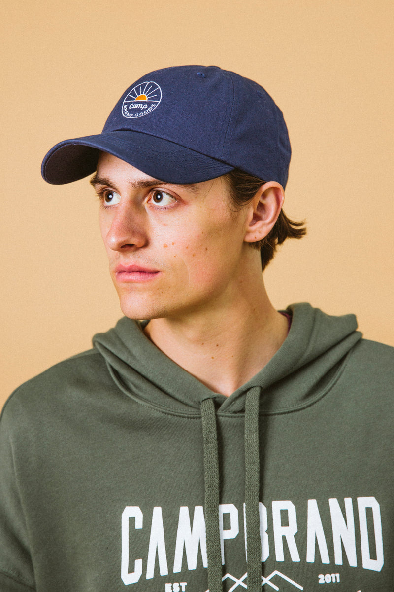 Camp Brand Goods - Sunrise Dad Cap // Blue