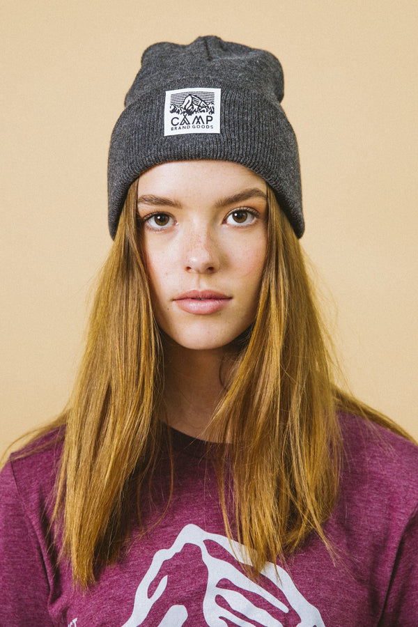 Camp Brand Goods - Heritage Logo Toque // Charcoal