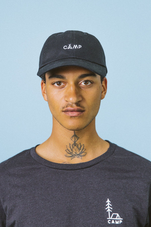 SALE - Camp Brand Goods - Wordmark Dad Cap // Black