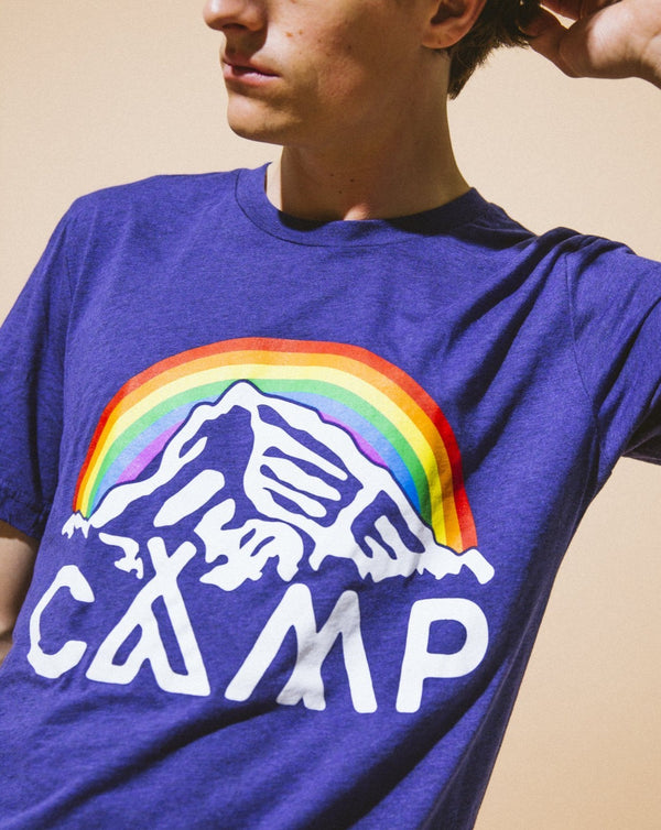 Camp Brand Goods - In It Together T-Shirt // Tri Navy