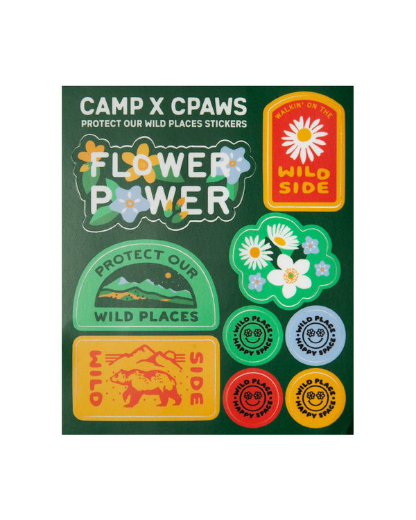 Camp Brand Goods - CPAWS Sticker Sheet
