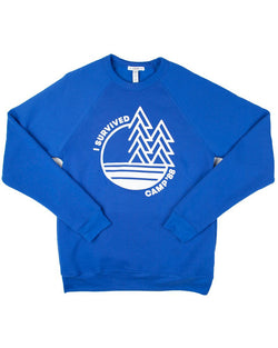 Camp Brand Goods - Camp'88 Sweatshirt // True Royal