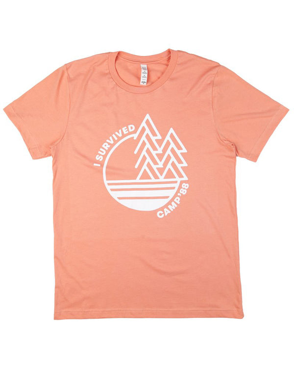 Camp Brand Goods - Camp'88 T-Shirt // Sunset