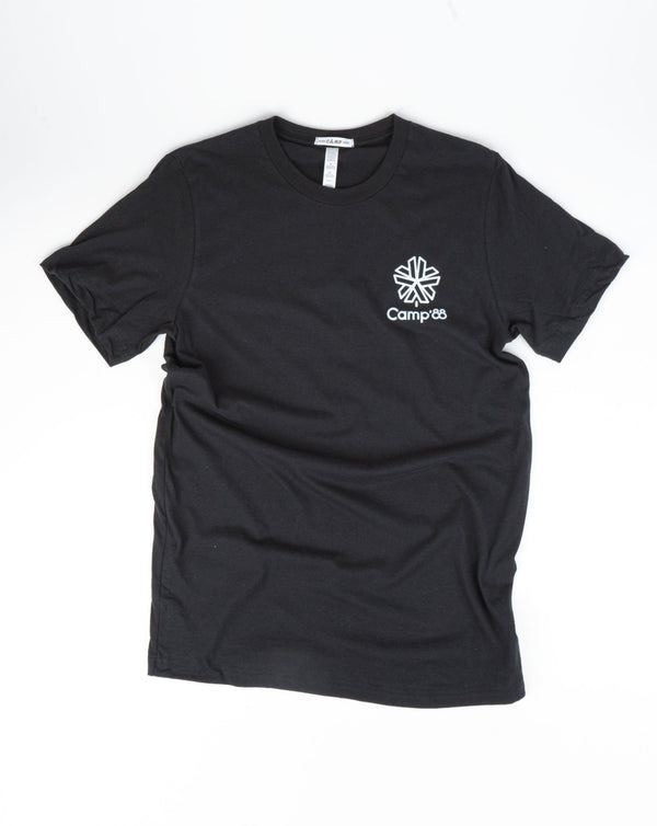 SALE - Camp Brand Goods - Camp'88 T-Shirt // Black