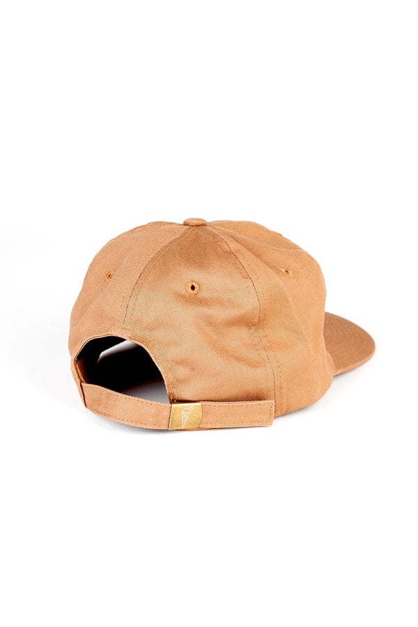 Camp Brand Goods - Happiest Camper Unstructured 6 Panel Cap // Copper