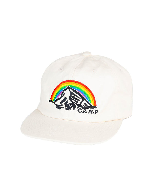Camp Brand Goods - In It Together Unstructured 6 Panel Cap // Beige