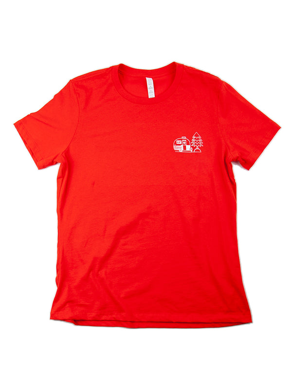 Camp Brand Goods - Gettin' Hitched Relaxed T-Shirt // Poppy