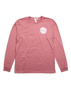 Camp Brand Goods - Happiest Camper Long Sleeve // Mauve