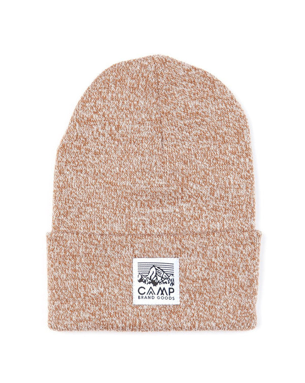 Camp Brand Goods - Heritage Logo Toque // Copper Marl