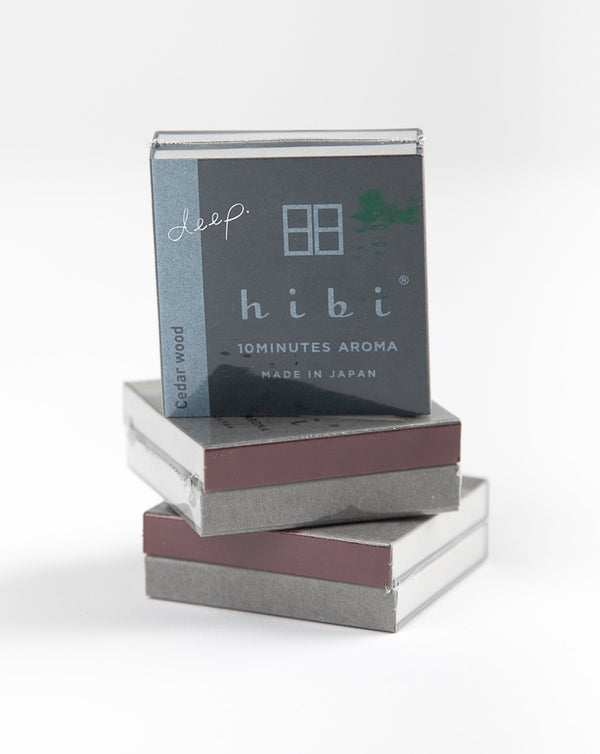 Hibi - 10 Minute Incense - Cedarwood
