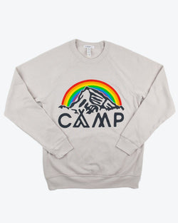 Camp Brand Goods - In It Together Sweatshirt // Dust