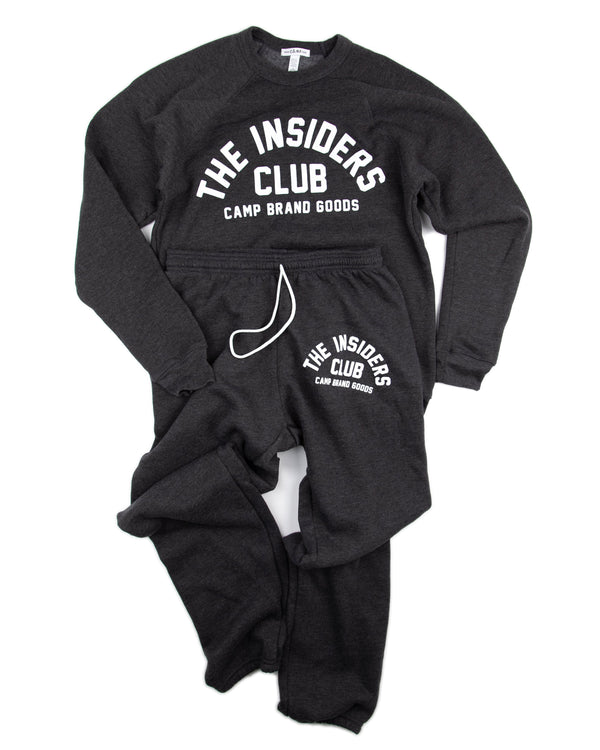 Camp Brand Goods - The Insiders Club Sweatsuit