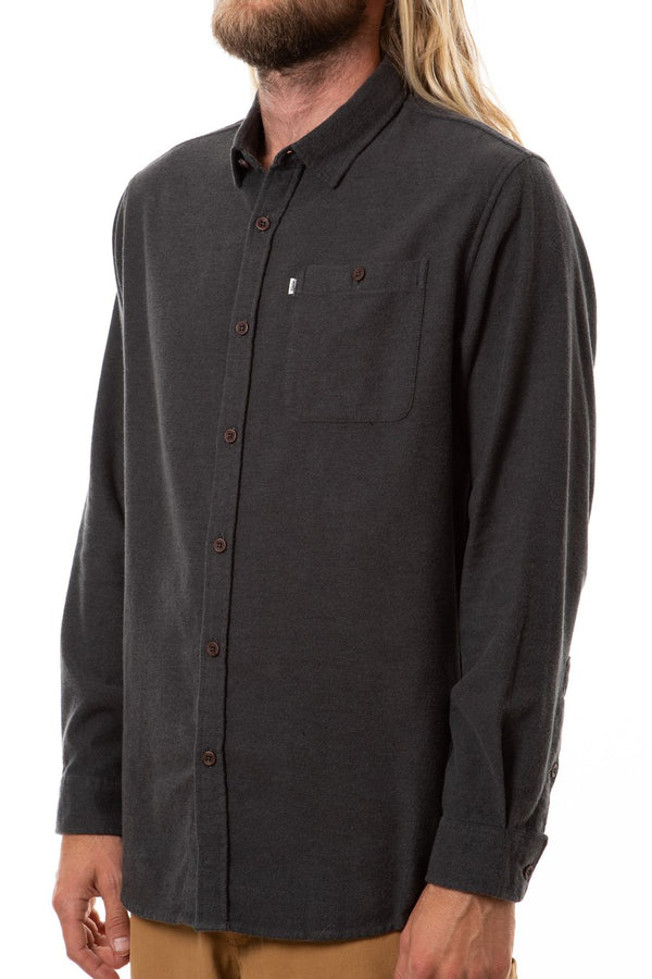 Katin - Twiller Flannel - Black