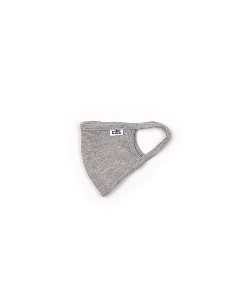 Camp Brand Goods - Kids Face Mask 3 Ply // Grey