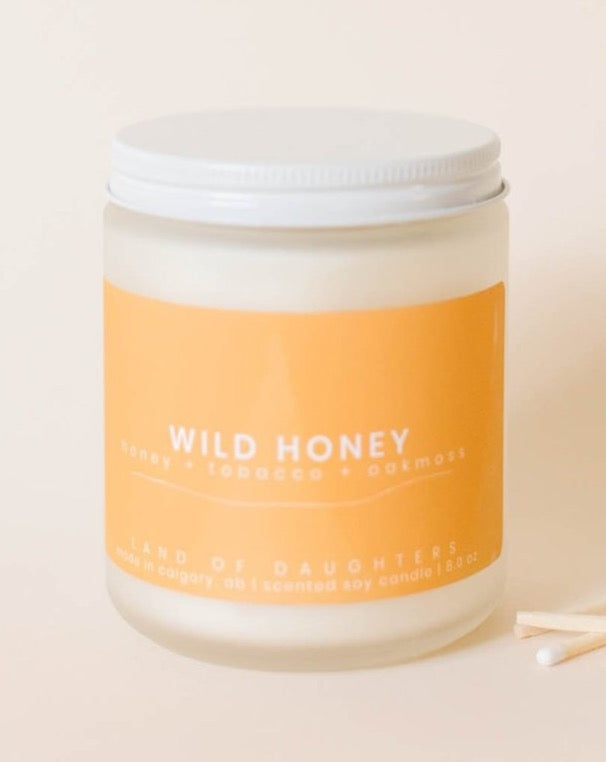 Land of Daughters - Wild Honey Candle