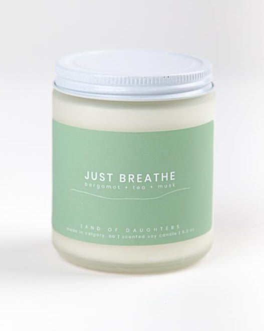 Land of Daughters - Just Breathe Candle
