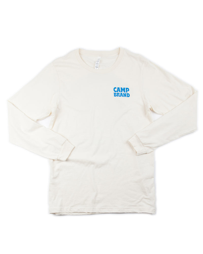Camp Brand Goods - Let The Good Times Roll Long Sleeve // Natural