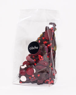 Cochu - Dark Chocolate Valentine's Candy Bark
