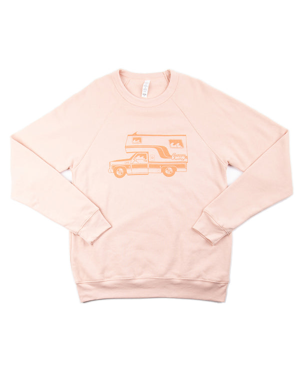 Camp Brand Goods - McNeilly Sweatshirt // Peach