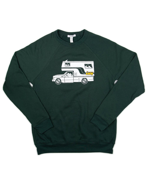 Camp Brand Goods - McNeilly Sweatshirt // Forest