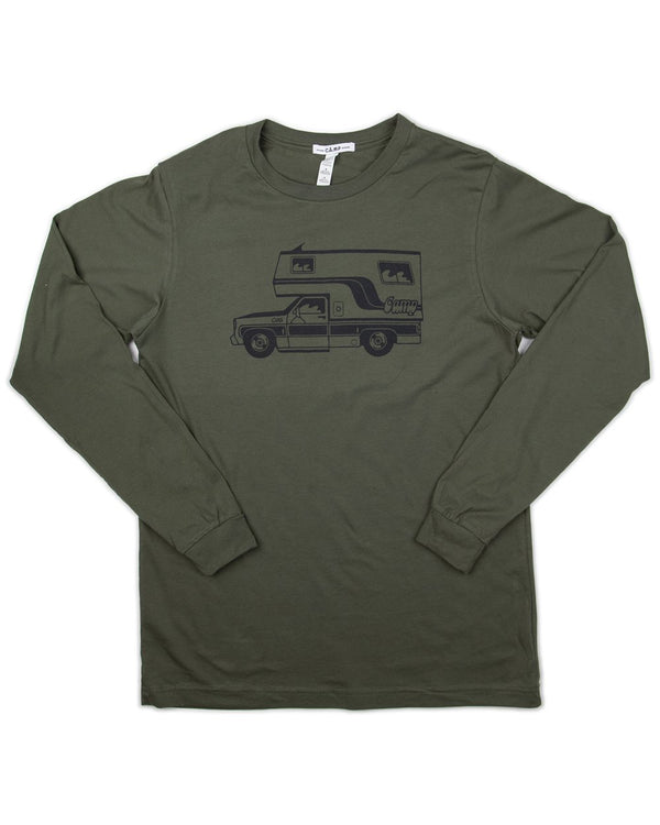 Camp Brand Goods - McNeilly Long Sleeve // Moss Green