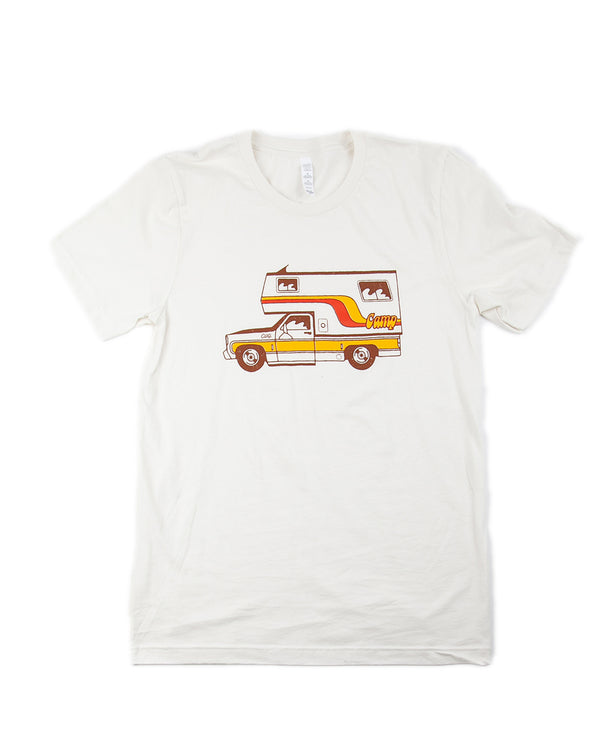 Camp Brand Goods - McNeilly T-Shirt // Vintage White