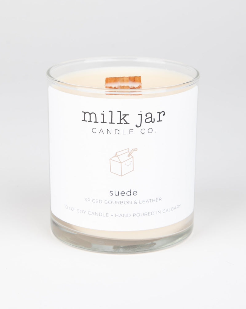 Milk Jar Candle Co - Suede