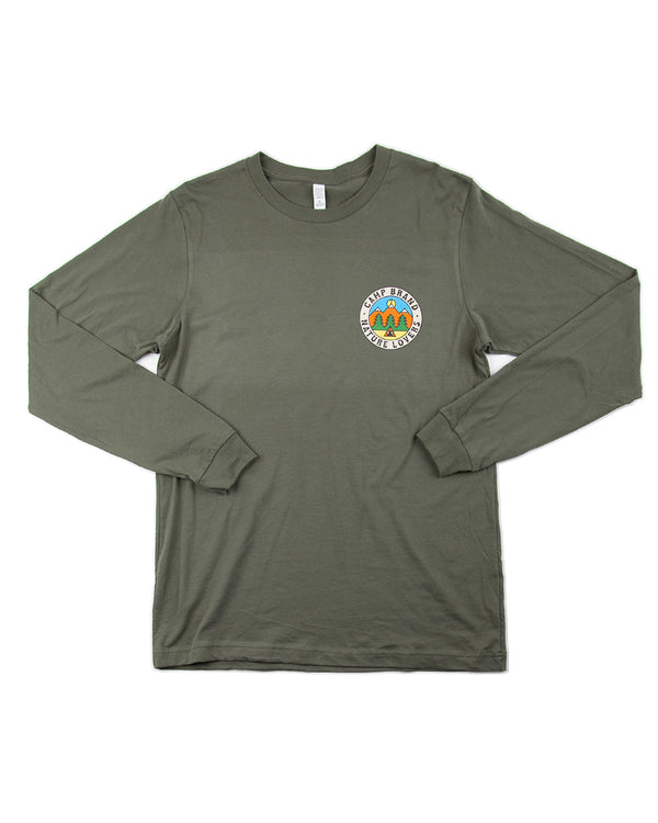 Camp Brand Goods - Nature Lovers Long Sleeve // Moss Green