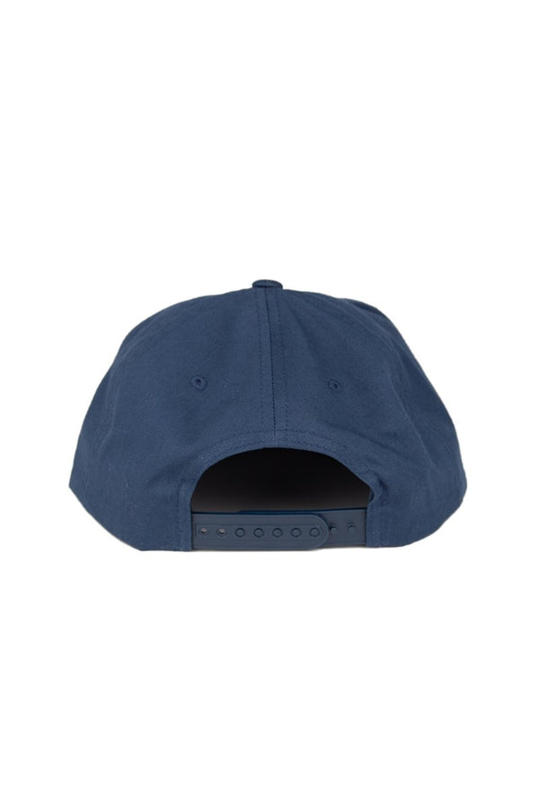 Camp Brand Goods - Nice Catch Snapback Hat // Navy