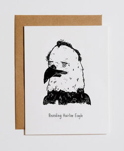 Mountains vs Plains - Receding Eagle Card